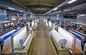 تولید تکمیل رنگرزی پارچه لباس کار